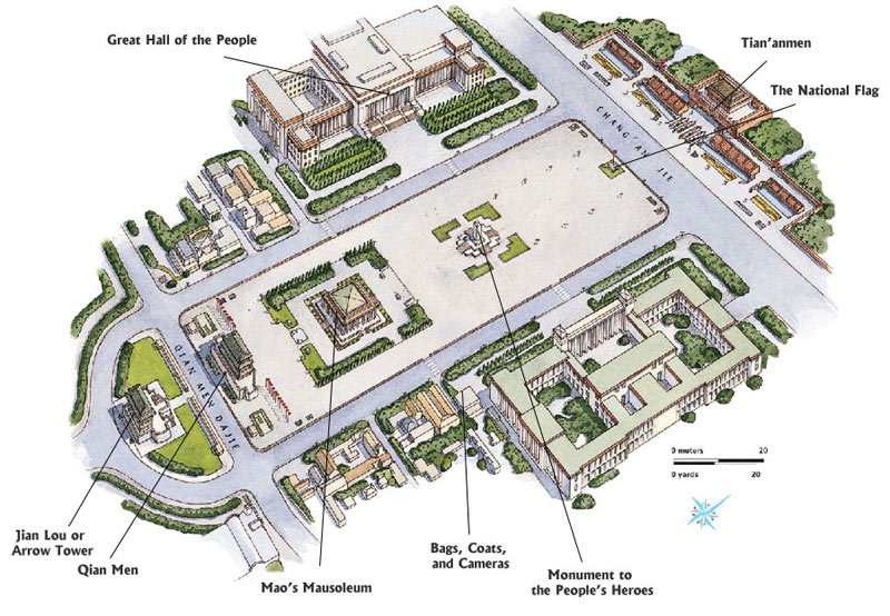 tiananmen-square-layout