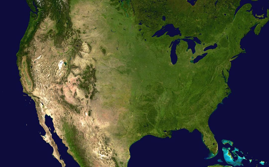 USA-satellite