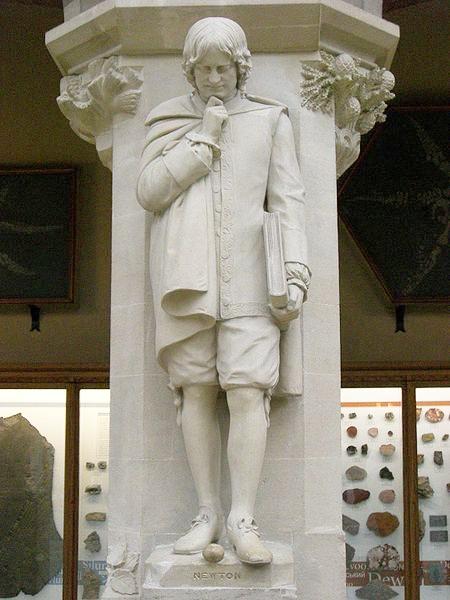 450px-Isaac_Newton_statue