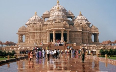 Akshardham Temple and Spiritual Sites of South Delhi Including ISKCON Temple