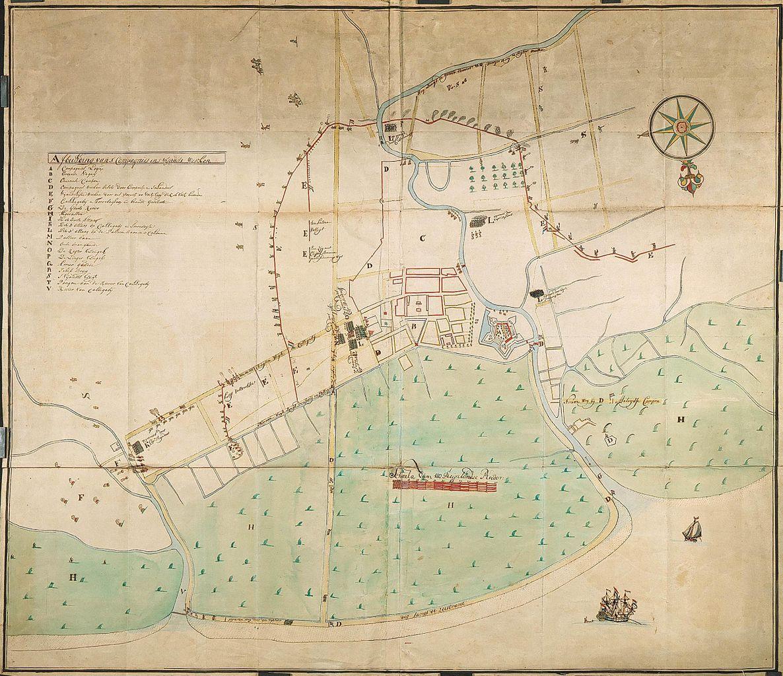 AMH-4658-NA_Map_of_the_fort_at_Samarang