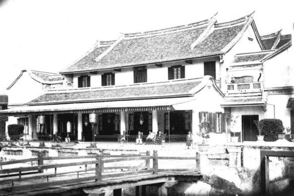 COLLECTIE_TROPENMUSEUM_Chinees_huis_in_Semarang_TMnr_60022048