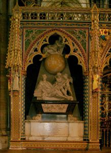 Isaac_Newton_grave_in_Westminster_Abbey