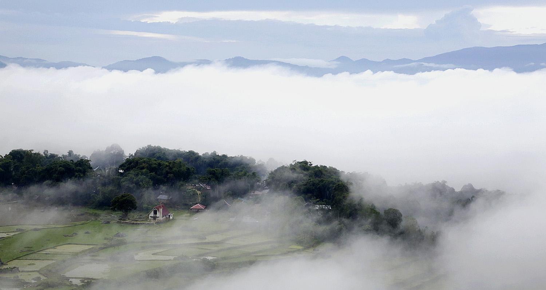 Kampung Lolai Toraja Utara 5