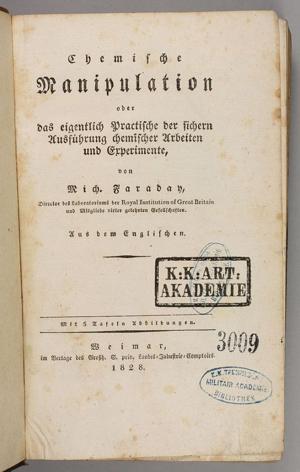 Michael_Faraday_1828_Chemische_Manipulation