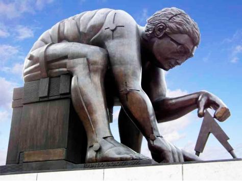 Newton by Eduardo Paolozzi