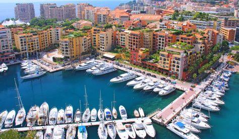 2. Monaco - 2 km²