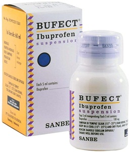 Bufect Ibuprofen Suspensi 60ml 300