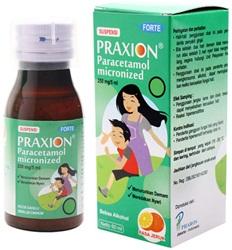 Praxion Forte Suspensi 250 mg-250