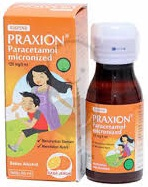 Praxion Suspensi 120 mg