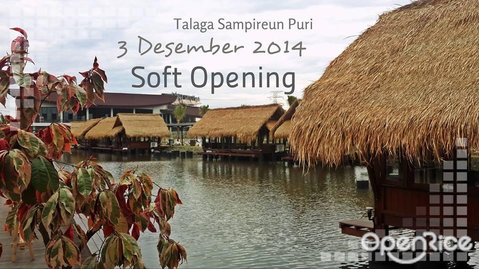 Telaga Sampireun - Puri Opening