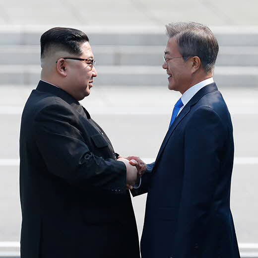2018_inter-Korean_summit_square