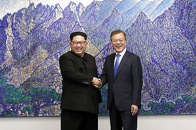 800px-2018_inter-Korean_summit_01