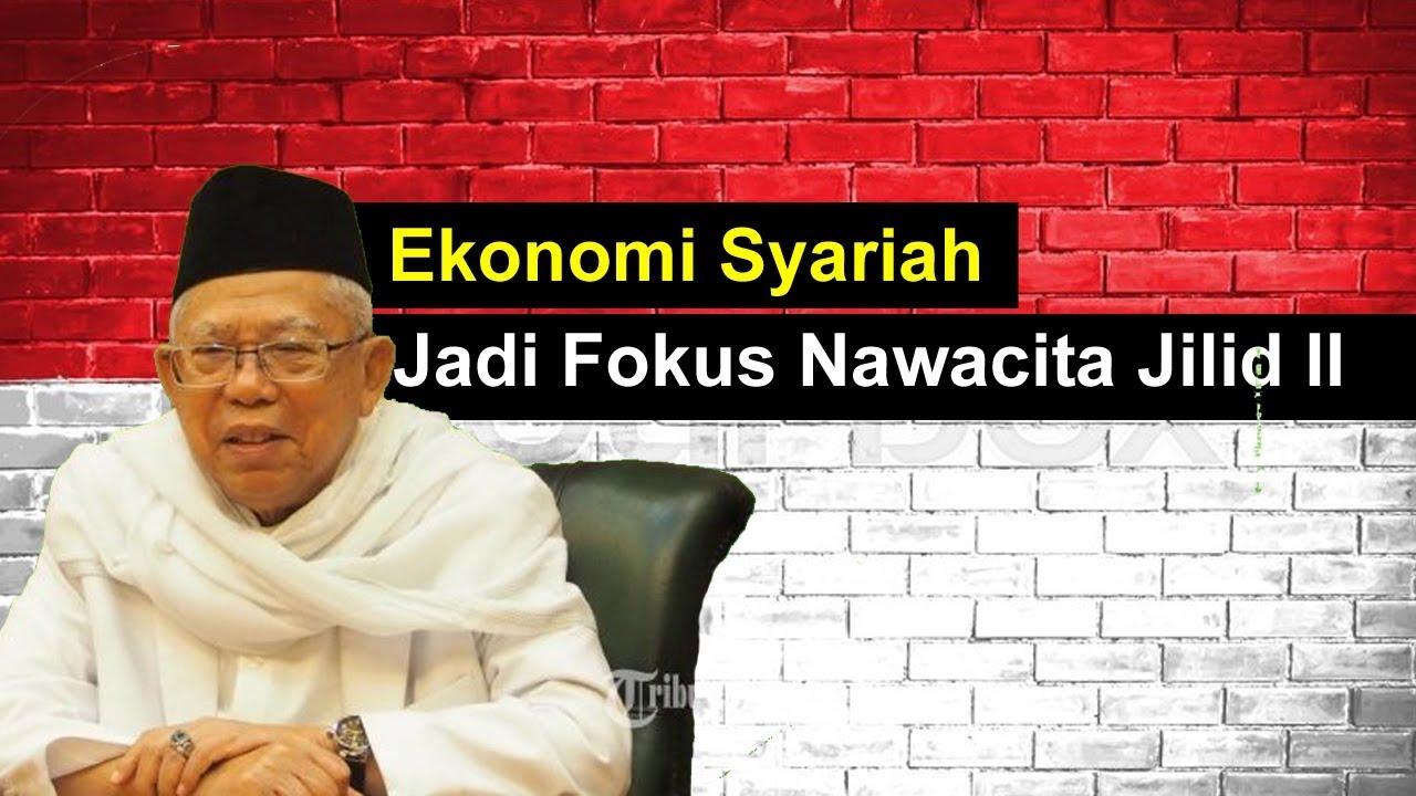 Ekonomi Syariah Jadi Fokus Maruf