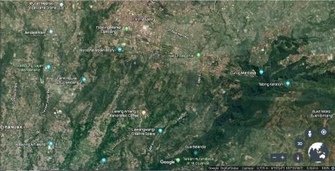 Lembang Satelite Map