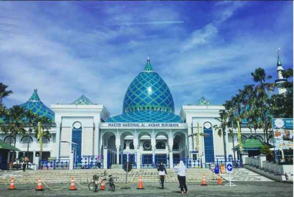 18. Masjid Nasional Al-Akbar Surabaya