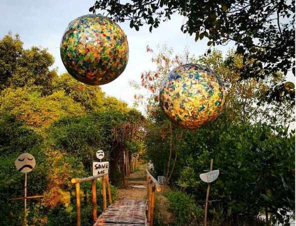 5. Wisata Hutan Mangrove Wonorejo yang masih Alami