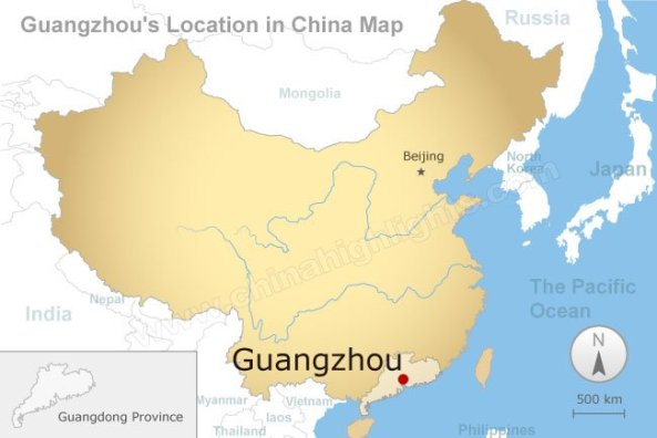 GuangZhou Map 1