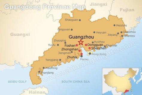 GuangZhou Map 2